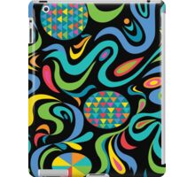 Cartwheel Black iPad Case/Skin