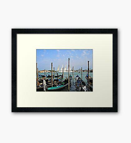 Summer In Venice Framed Print
