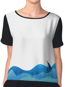 SAIL A WAVE Chiffon Top