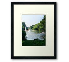 Water River Framed Print