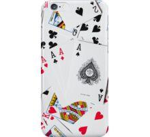 poker cards iPhone Case/Skin