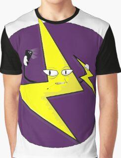 Flash Selfie Graphic T-Shirt