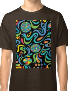Cartwheel Black Classic T-Shirt