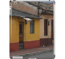 Old Buildings in Cotacachi iPad Case/Skin