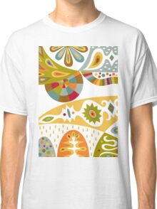 Bohemian white Classic T-Shirt