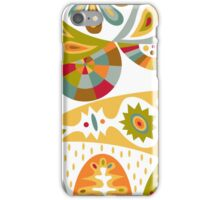 Bohemian white iPhone Case/Skin