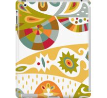 Bohemian white iPad Case/Skin