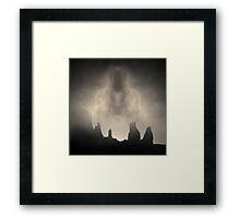 Apparition I Toned Framed Print