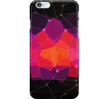 Abstract background. Hot pink. Color space. iPhone Case/Skin