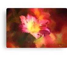 Lily Summer Splash Canvas Print