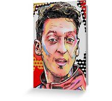 Mesut Ozil - Deutschland Greeting Card