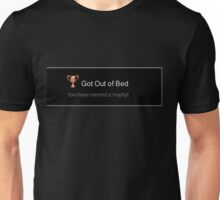 Playstation Trophy: Got Out of Bed Unisex T-Shirt