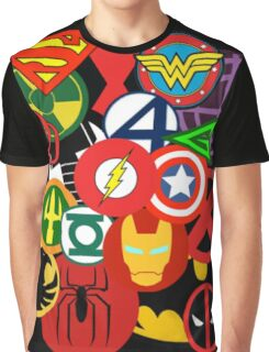 Heroes Graphic T-Shirt