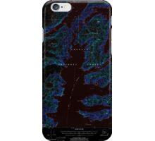 USGS TOPO Map Alaska AK Seward A-4 358871 2000 63360 Inverted iPhone Case/Skin