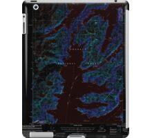 USGS TOPO Map Alaska AK Seward A-4 358871 2000 63360 Inverted iPad Case/Skin