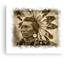 Mighty Chief Canvas Print
