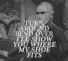 sassy ham wants none of your shit, jefferson by Annie Louise