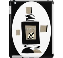 Life Is Black And White When A Robot iPad Case/Skin