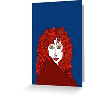 Blue, White, and Redheads Rock Greeting Card