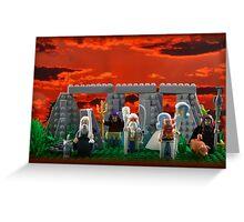 Sunrise At Stonehenge Greeting Card