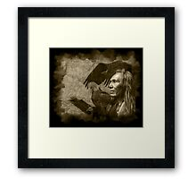 There Eagles Framed Print
