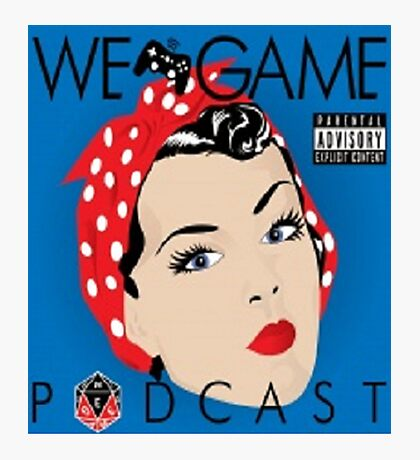 We Game Podcast Photographic Print