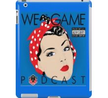 We Game Podcast iPad Case/Skin