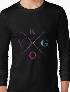 Kygo - Blue Violet Color Long Sleeve T-Shirt