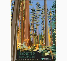 Vintage poster - Headwaters Forest Reserve Unisex T-Shirt