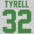 Tyrell Jersey (green font) by Connie Yu