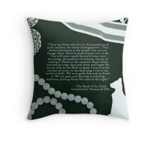 Return to the Rhythm of the Water Throw Pillow
