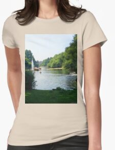 Water River Womens Fitted T-Shirt