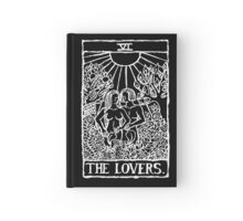 The Lovers Tarot Card Print Hardcover Journal