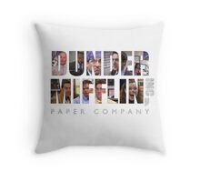 Dunder Mifflin Paper Co Throw Pillow