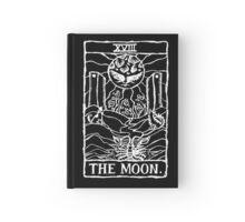 The Moon Tarot Card Print  Hardcover Journal
