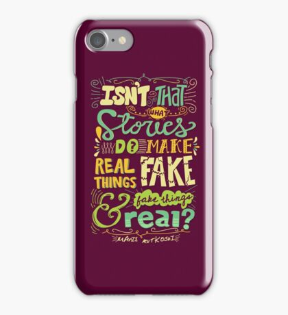What Stories Do iPhone Case/Skin
