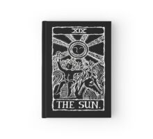 The Sun Tarot Card Print Hardcover Journal