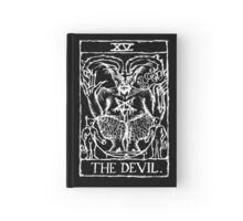 Devil Tarot Card Print Hardcover Journal
