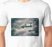 BBMF Spitfire Escort Unisex T-Shirt