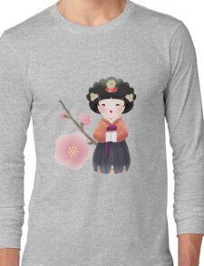Korean Doll Long Sleeve T-Shirt