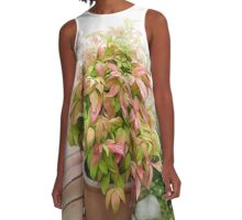 Leaves and Dew A-Line Dress