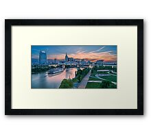 General Jackson Summer Sunset Framed Print