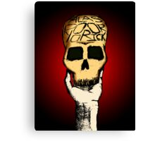 Alas! Poor Yorick! Canvas Print