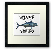 Bluefin Fishing Framed Print