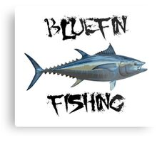 Bluefin Fishing Metal Print