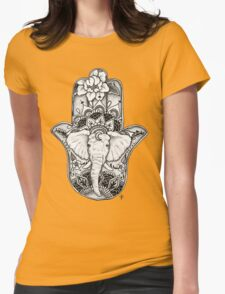 The Divine Elephant Womens Fitted T-Shirt