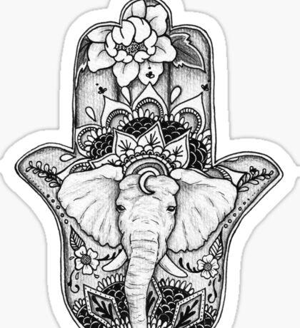 The Divine Elephant Sticker