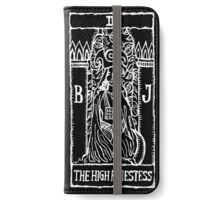 High Priestess Tarot Card Print  iPhone Wallet/Case/Skin