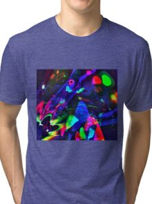 Trance Lights Tri-blend T-Shirt