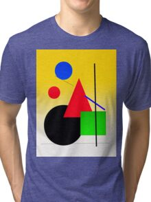 sun rise cityscape Tri-blend T-Shirt